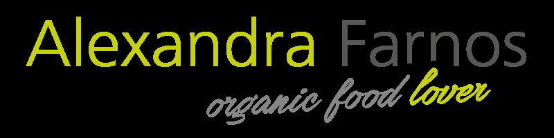 Organic food lover signature Alexandra